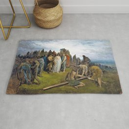 Christ on Golgotha Hill - Digital Remastered Edition Rug