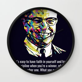 Quotes Vince Lombardi Wall Clock