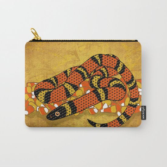 Mexican Candy Corn Snake Carry-All Pouch