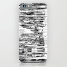 Fog and Rain: Cityscape (WHITEOUT) iPhone 6s Slim Case