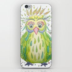 Forest's Owl iPhone & iPod Skin