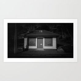 The Christchurch Electricity Substation Project XXXI Art Print