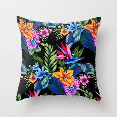 Jungle Vibe Throw Pillow