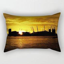 London In October Rectangular Pillow