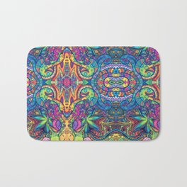 Trippy Weed Bath Mat