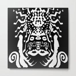 painting  remix art brut Metal Print