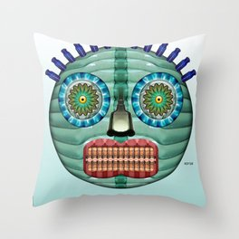 Bottlehead #11 Throw Pillow