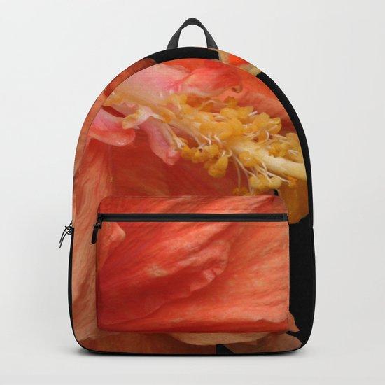 Double Orange Hibiscus DPG160419 Backpack