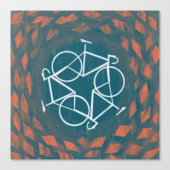 Bike-Cycle Canvas Print