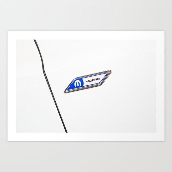 Chrysler 300C detail Art Print