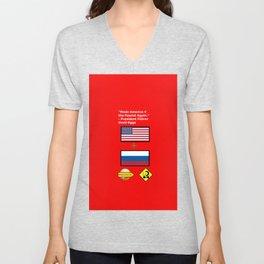 Made America 4 the Fascist Again Unisex V-Neck