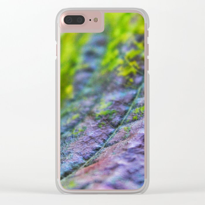 Beauty up close Clear iPhone Case