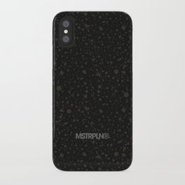Trail Status / Technical Black iPhone Case