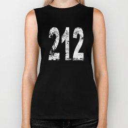 Vintage New York City Area Code 212 Biker Tank