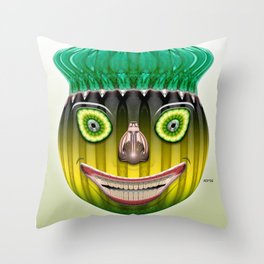 Bottlehead #3 Throw Pillow