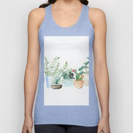 Plants Unisex Tank Top