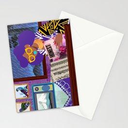 Rainy Day Reading Stationery Cards