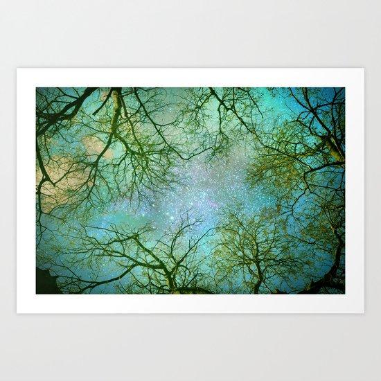Sky dreams Art Print