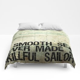 A Smooth Sea Comforters
