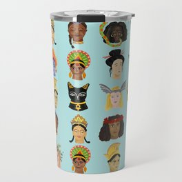 Goddesses Around the World Travel Mug