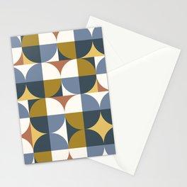 Mid Century Modern Geometric 21 #society6 #decor #buyart #artprint Stationery Cards