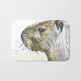 fascinating altered animals - Capybara Bath Mat