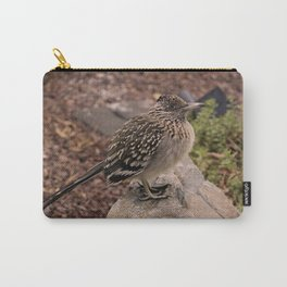 Frozen Road Runner on Rock Carry-All Pouch