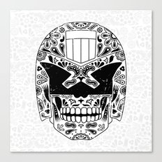 Day of the Dredd Canvas Print