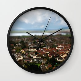 The Village of Cheddar Wall Clock