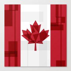 O Canada Canvas Print