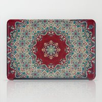 rug iPad Cases featuring Mandala Nada Brahma  by Elias Zacarias