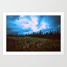 Dark Skies Art Print