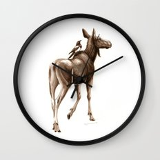 Where To? Wall Clock