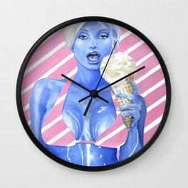Licks and Drips Wall Clock