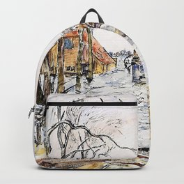 Thomas Hennell - Flooded Walcheren - Digital Remastered Edition Backpack