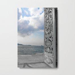 Gate  Metal Print