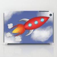 rocket iPad Cases featuring Rocket by PrisonBlockS