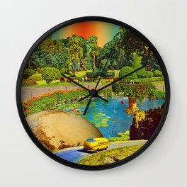 Gardens of Pluto Wall Clock