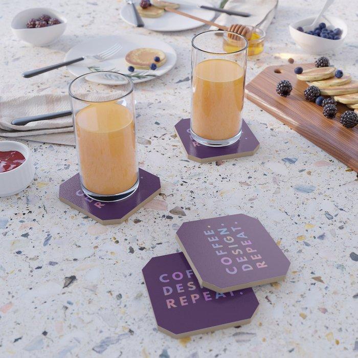 Coffee Design Repeat Coaster