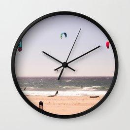 Wind colors Wall Clock