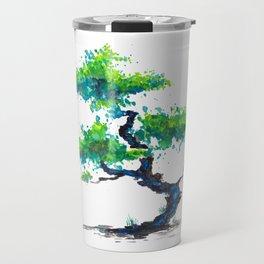 Blue Bonsai Travel Mug