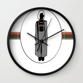 Jodie Whittaker - 13th Doctor Wall Clock