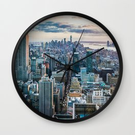 New York City (Color) Wall Clock