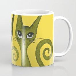 Merrimack Whimsical Cats Coffee Mug