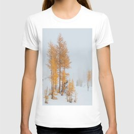 Vibrant Larch Trees T-shirt