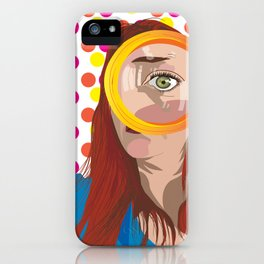 Wide Open iPhone Case