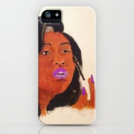 Jazmine Sullivan iPhone Case