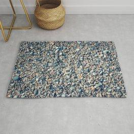 Beach stones surface Rug