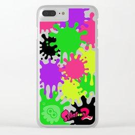 Splatoon fans Clear iPhone Case