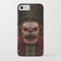demon iPhone & iPod Cases featuring Demon by Zandonai